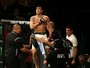 """Felipe Sertanejo diz que """"se achou"""" no peso-galo e põe cinturão como meta"""