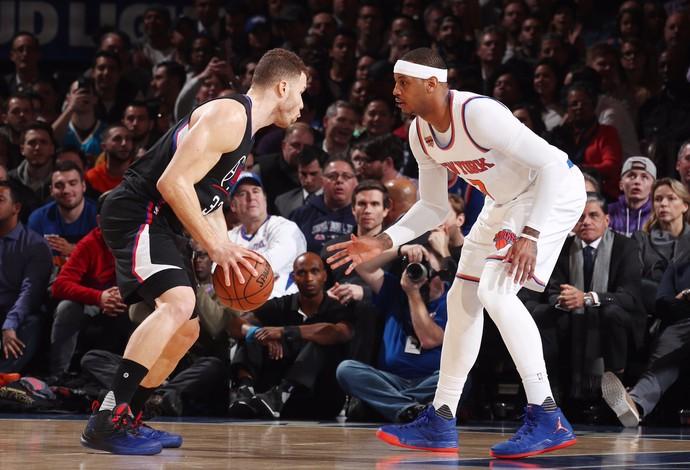 New York Knicks vs. Los Angeles Clippers NBA (Foto: Divulgação/NBA)