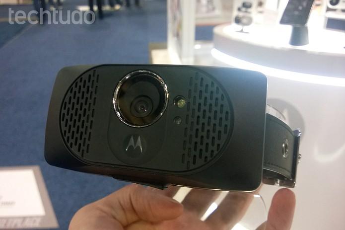 Produto será capaz de fazer gravação em resolução HD e fazer streaming pela Internet (Foto: Elson de Souza/TechTudo)