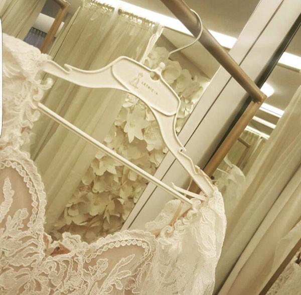 Vestido de noiva da Rafa Brites (Foto: Reprodução Instagram)