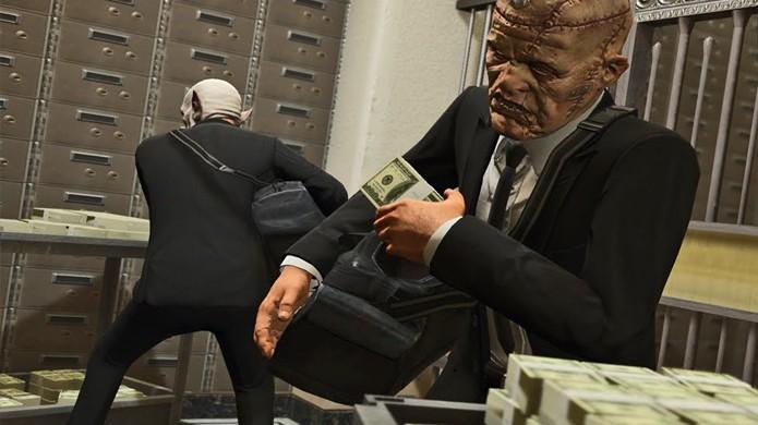 Até mesmo nos assaltos de GTA Online será necessário gastar dinheiro para ganhar dinheiro (Foto: Reprodução/YouTube)