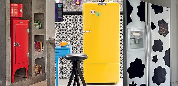 geladeiras randômica (Foto: Casa e Jardim)
