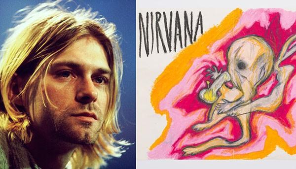 Kurt Cobain / Comic (Foto: Getty Images / Divulgação)