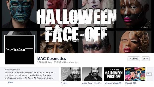 Facebook: M.A.C (Foto: reprodução / internet)