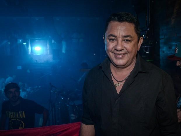 João Reis, pai de Cristiano Araújo, em show em São Paulo (Foto: Francisco Cepeda/ Ag. News)