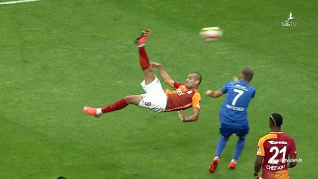 Eren Derdiyok golaço Galatasaray
