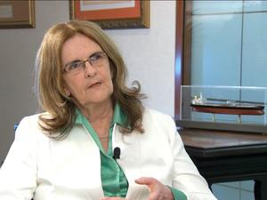 Graça Foster, presidente da Petrobras/GNews (Foto: Reprodução GloboNews)