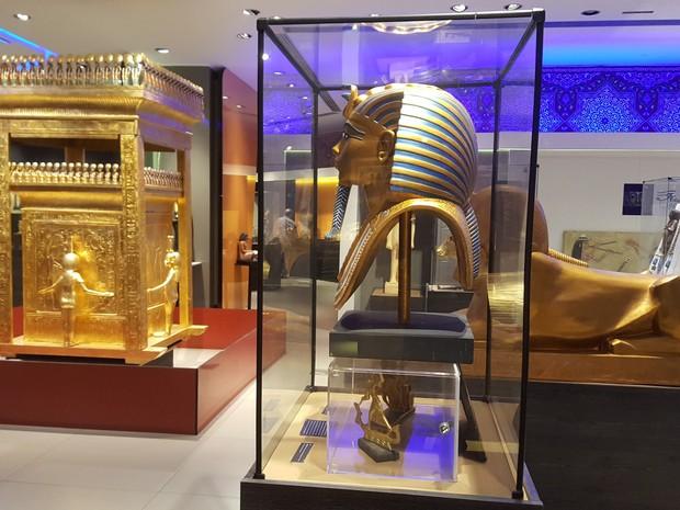 Museu Egípcio Intinerante está em cartaz no Shopping RioMar (Foto: Shopping RioMar Fortaleza/Divulgação)