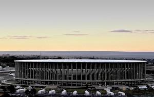 estádio Mané Garrincha Copa das Confederações (Foto: AFP)
