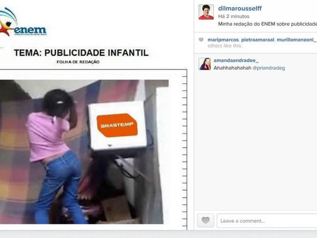Eita, Giovana, o forninho caiu... (Foto: Reprodução/Instagram)