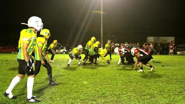 Jungle Bowl será realizado no Campus da Nilton Lins (Foto: Frank Cunha/Globoesporte.com)
