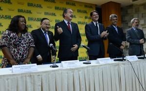 Aloizio Mercadante anuncia novos secretários do MEC (Foto: Fábio Rodrigues Pozzebom/ABr)