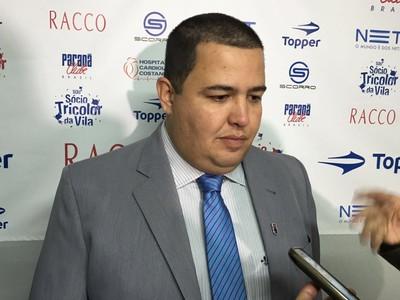 Leonardo de Oliveira; Paraná (Foto: Thiago Ribeiro)