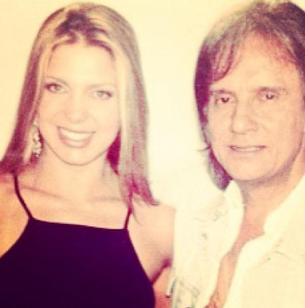 Sheila Mello e Roberto Carlos (Foto: Instagram / Reprodução)