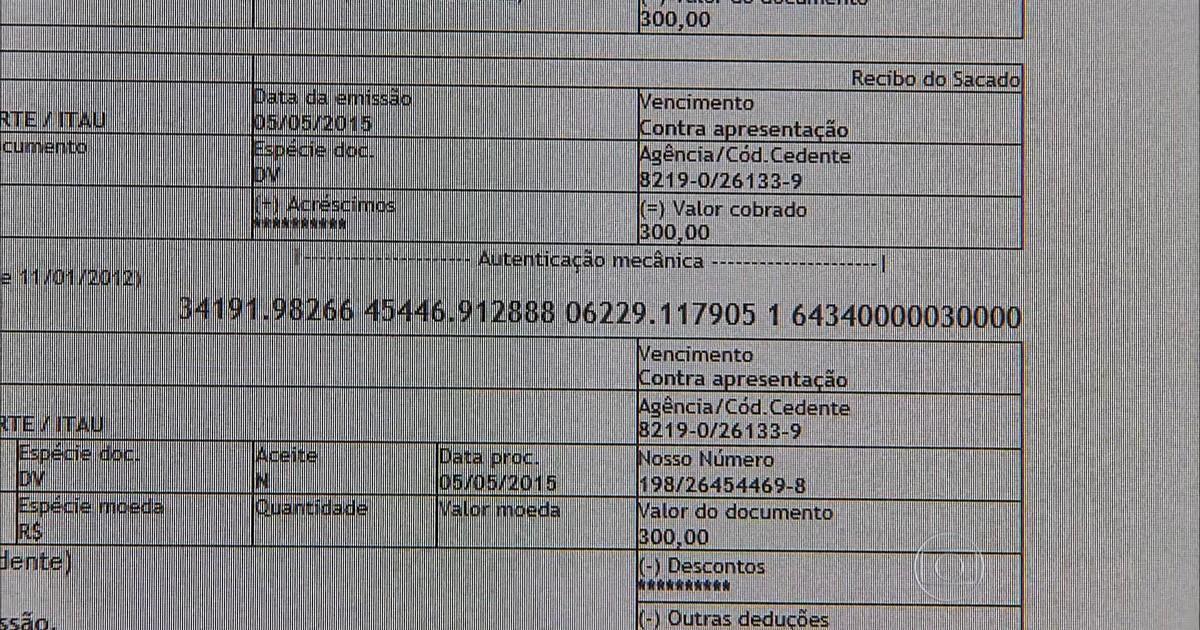 085d90ae51 Jornal Nacional - Golpe do boleto falso na internet faz cada vez mais  vítimas no país