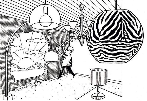 (Foto: Ilustração Massao Hotoshi/Casa e Jardim)