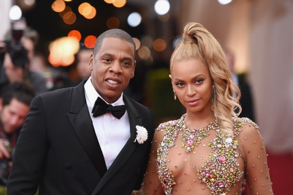 O casal Beyoncé e Jay Z em uma de suas mais recentes aparições em público, em maio (Foto: Getty Images)