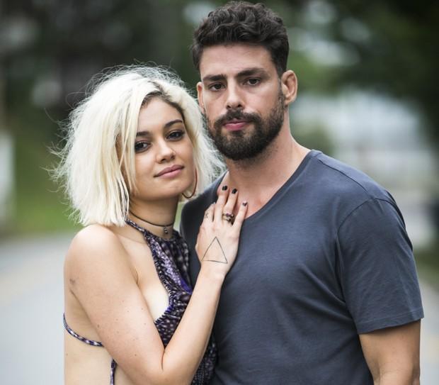 Sophie Charlotte e Cauã Reymond (Foto: TV Globo/João Miguel Júnior)