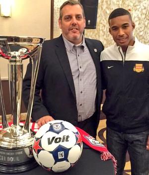 Stefano, Fort Lauderdale Strikers Bola de Ouro NASL (Foto: Reprodução / Twitter)