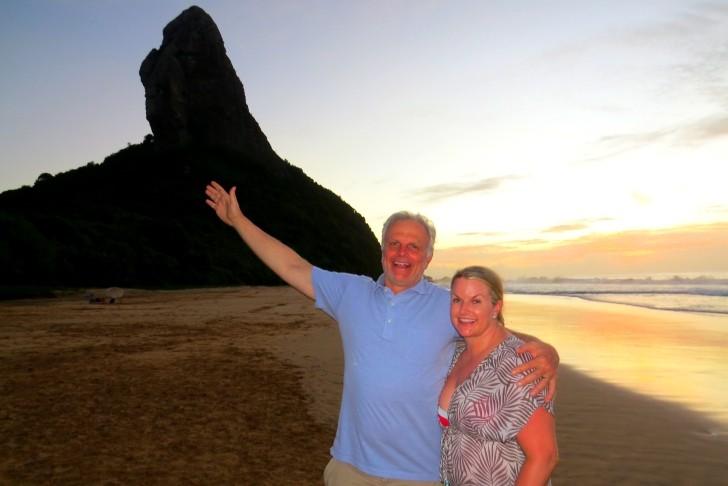 David Neeleman e a mulher