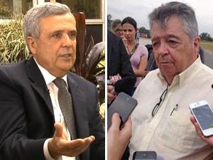 Alckmin troca secretário de Recursos Hídricos para a próxima gestão (Foto: Montagem/Reprodução/TV Globo)