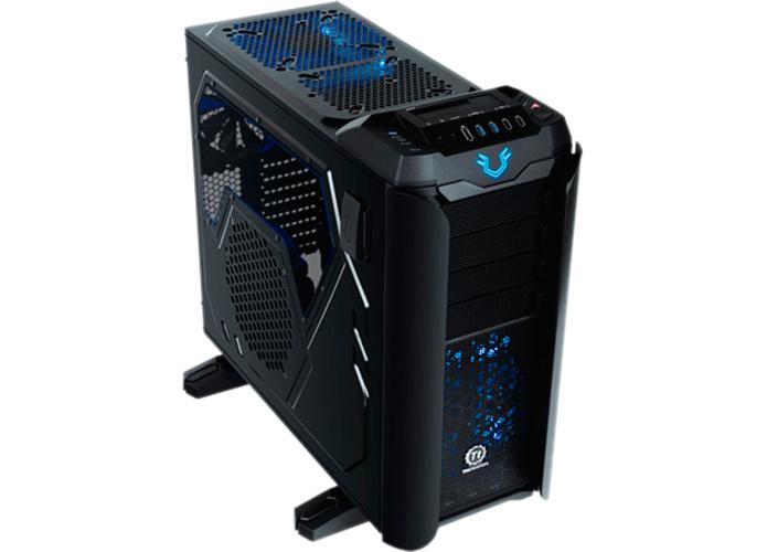 Ponto forte dos mid tower é o aspecto mais compacto que torna possível usar o computador em lugares com menos espaço (Foto: Divulgação/ThermalTake)
