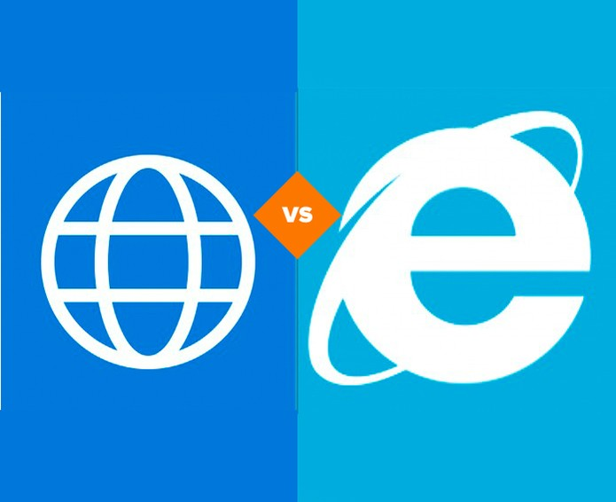 Spartan chegou para substituir o Internet Explorer no Windows 10 (Foto: Arte/TechTudo)
