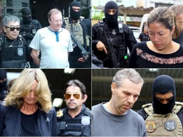 Quatro, dos seis mandados de prisão da 22ª fase, foram cumpridos até a manhã desta sexta-feira (Foto: Giovanny Belchior Silva / RPC / Rodolfo Buhrer/Reuters )