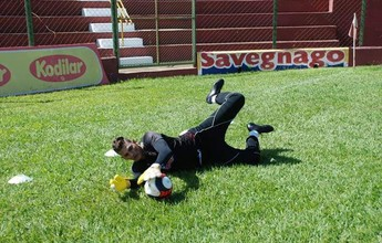 Titular em teste, Saulo fala em respeito na disputa pelo gol do Sertãozinho