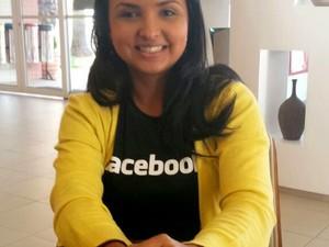 Camila Fusco é diretora de empreendedorismo do Facebook da América Latina (Foto: Bruna Sampaio/G1)