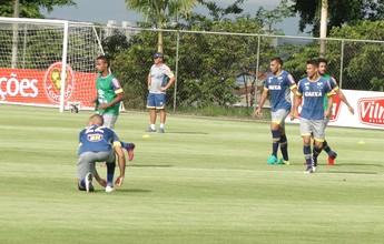 Sem Marcos Vinícius, Cruzeiro segue preparação para encerrar a temporada
