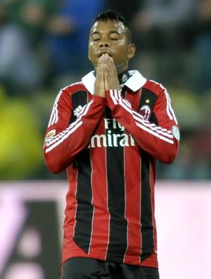 Robinho Milan Parma (Foto: AP)