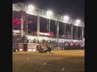 Montaria tem Silvério campeão e touro que caiu em cima de peão