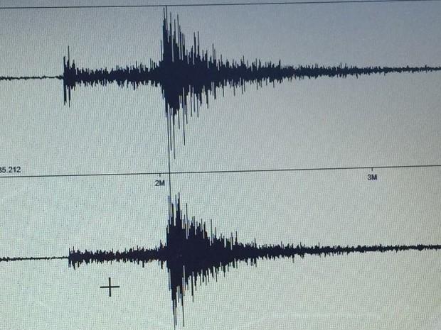 Tremor de magnitude de mais de 2.3 foi registrado entre São Caetano e Caruaru (Foto: Divulgação/ LabSis/UFRN)