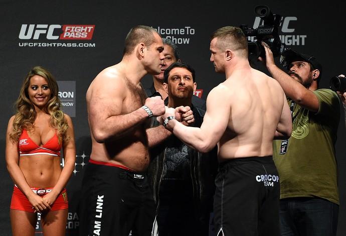Gabriel Napão Mirko Cro Cop UFC Polônia (Foto: Getty Images)
