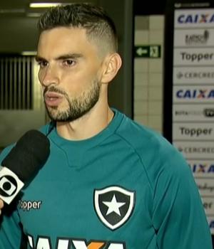 Rodrigo Pimpão, atacante do Botafogo (Foto: Reprodução SporTV)