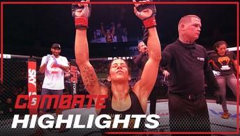 Confira os melhores momentos  da mineira Ju Thai no UFC