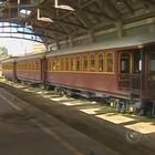 Transporte por ferrovia facilitou a  expansão do mercado exportador (Reprodução/TV TEM)