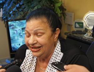 Rosilene Gomes, presidente da Federação Paraibana de Futebol (Foto: Rammom Monte)
