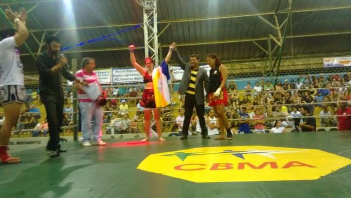 fabiana cinturão ring (Foto: Fabiana Barrenquevitcz\ Arquivo Pessoal)