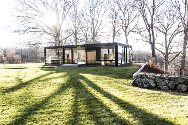 Casa de vidro Philip Johnson (Foto: Randy Harris/The New York Times)