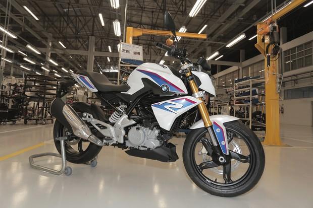 BMW produz primeira G 310 R no Brasil (Foto: Divulgação)