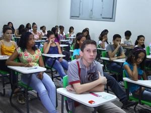 Provas de seletivo foram realizadas domingo, em 18 municípios maranhenses (Foto: Biné Morais/O Estado)