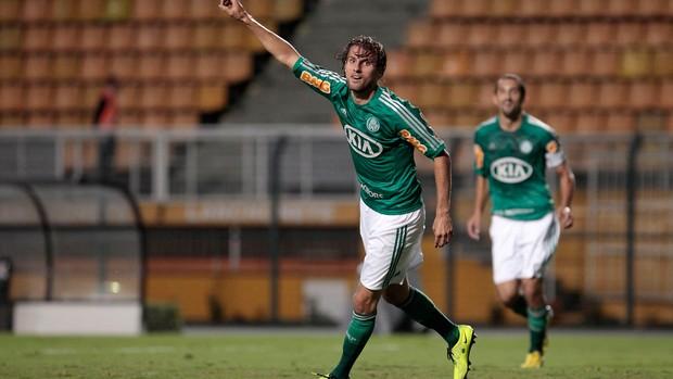 Henrique gol Palmeiras (Foto: Miguel Schincariol / Ag. Estado)