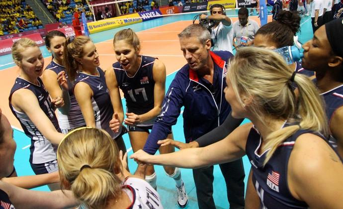 Rússia x EUA - Estados Unidos Grand Prix São Paulo (Foto: Divulgação/FIVB)
