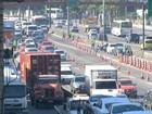 Avenida Brasil tem mudanças no trânsito para obras de BRT no Rio
