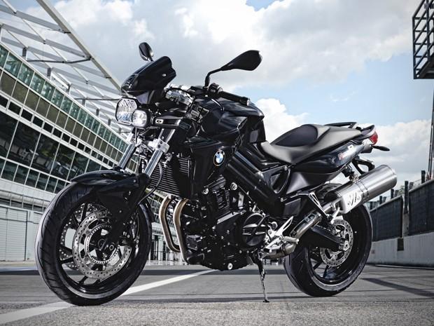 """BMW F 800 R """"All Black"""" (Foto: Divulgação)"""
