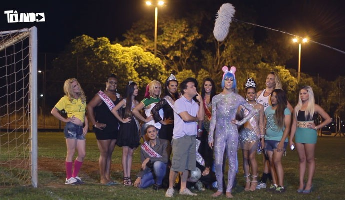 Time de futebol reúne transexuais e transgêneros em Uberaba (Foto: Divulgação | Tô Indo)