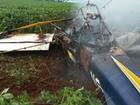 Situação de avião agrícola que caiu e matou dois era regular, diz Anac