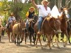 Cavalgada revive em São Paulo os tempos das tropeadas